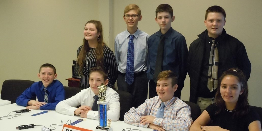 7th Grade Erie County Academic Challenge Champions