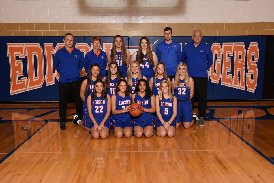 2018-19 Lady Charger Varsity Basketball Team