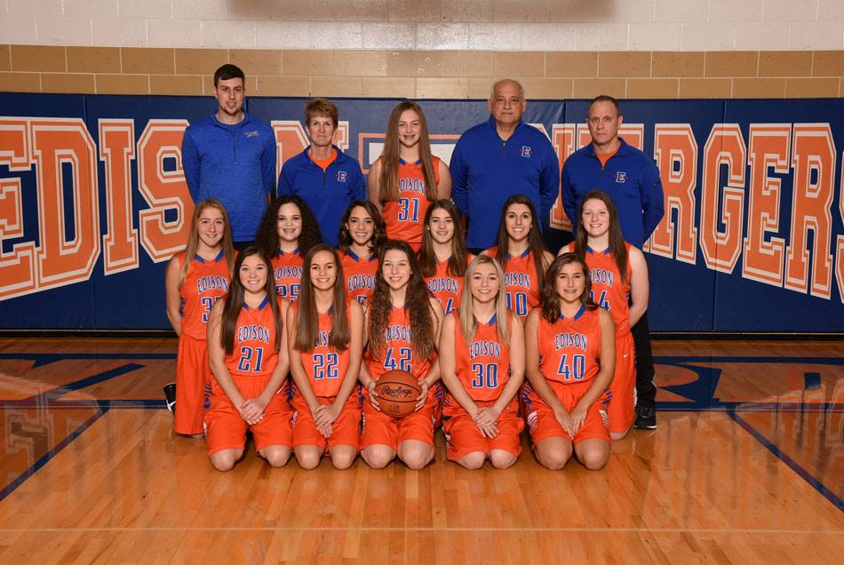2018-19 Lady Charger Junior Varsity Basketball Team