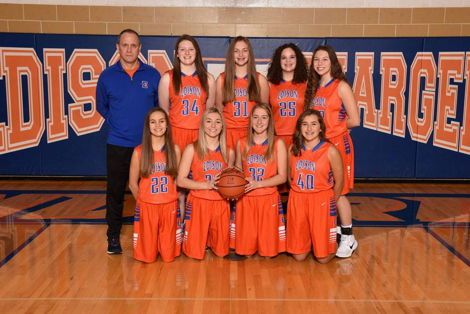 2018-19 Lady Charger Freshman Basketball Team