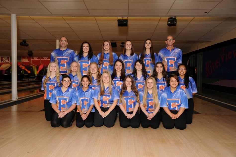 2018-19 Girls Bowling Team