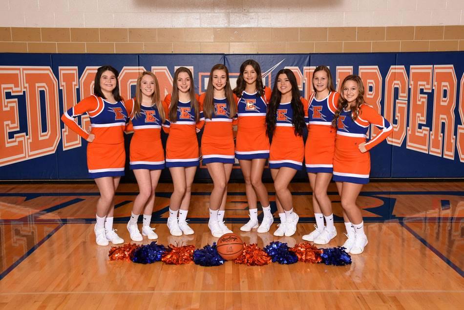 2018-19 Varsity Cheerleaders