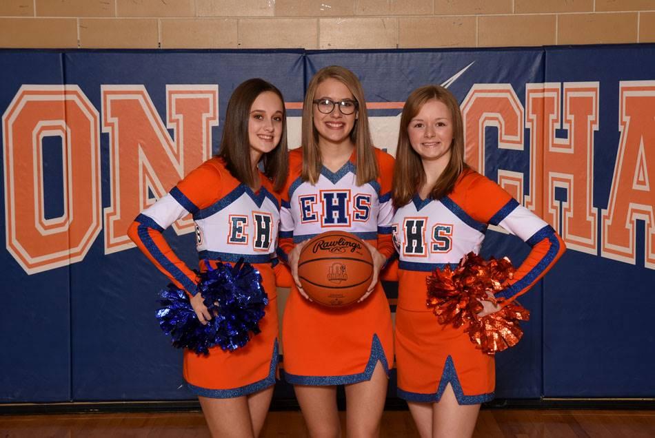 2018-19 Junior Varsity Cheerleaders