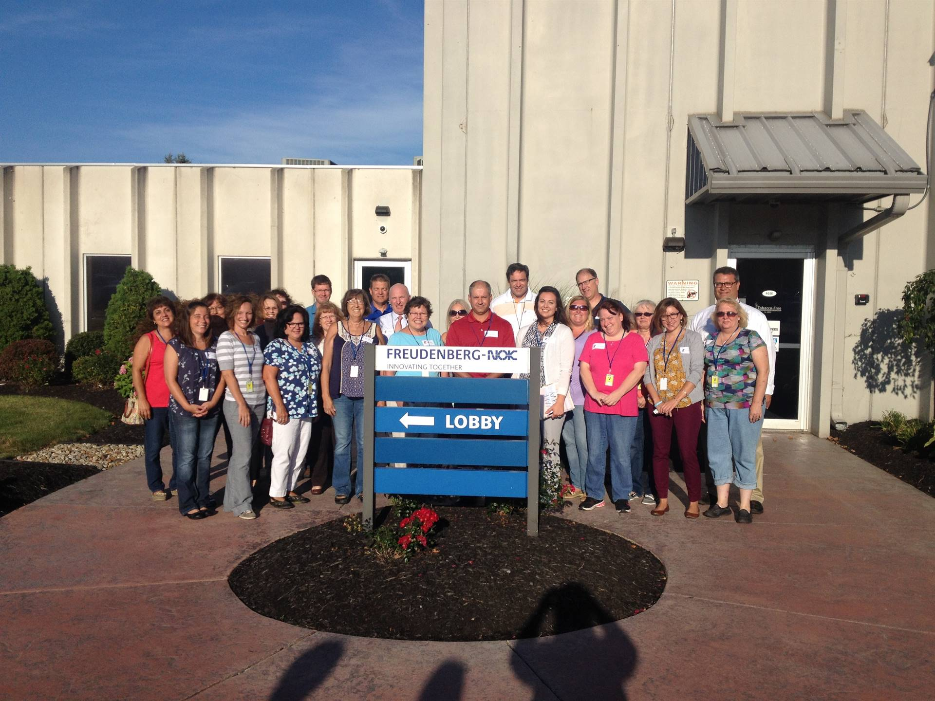 All Edison Staff members participated in partner company tours to learn more about our local busines