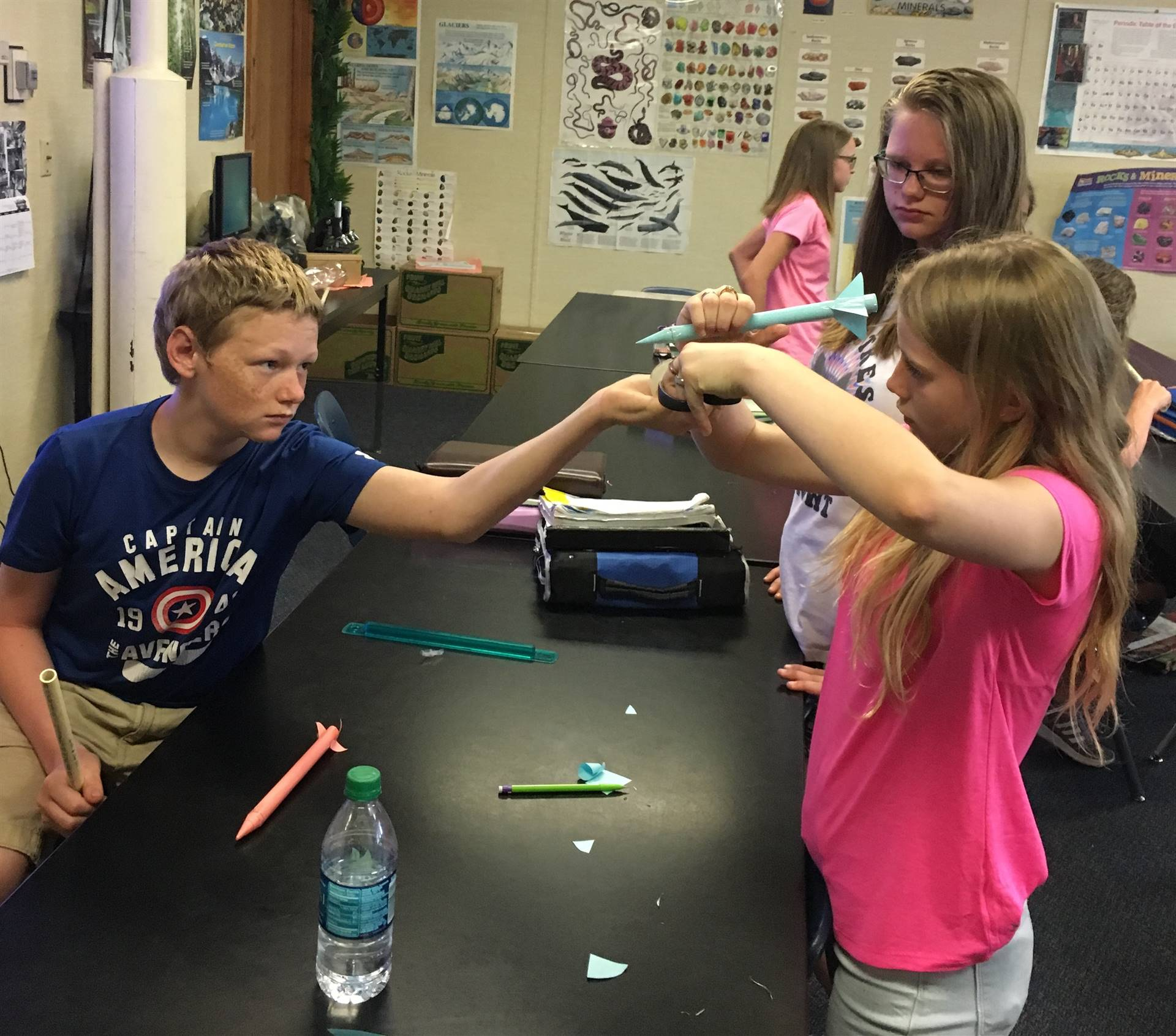 Mr. Doerner's 6th grade Science class