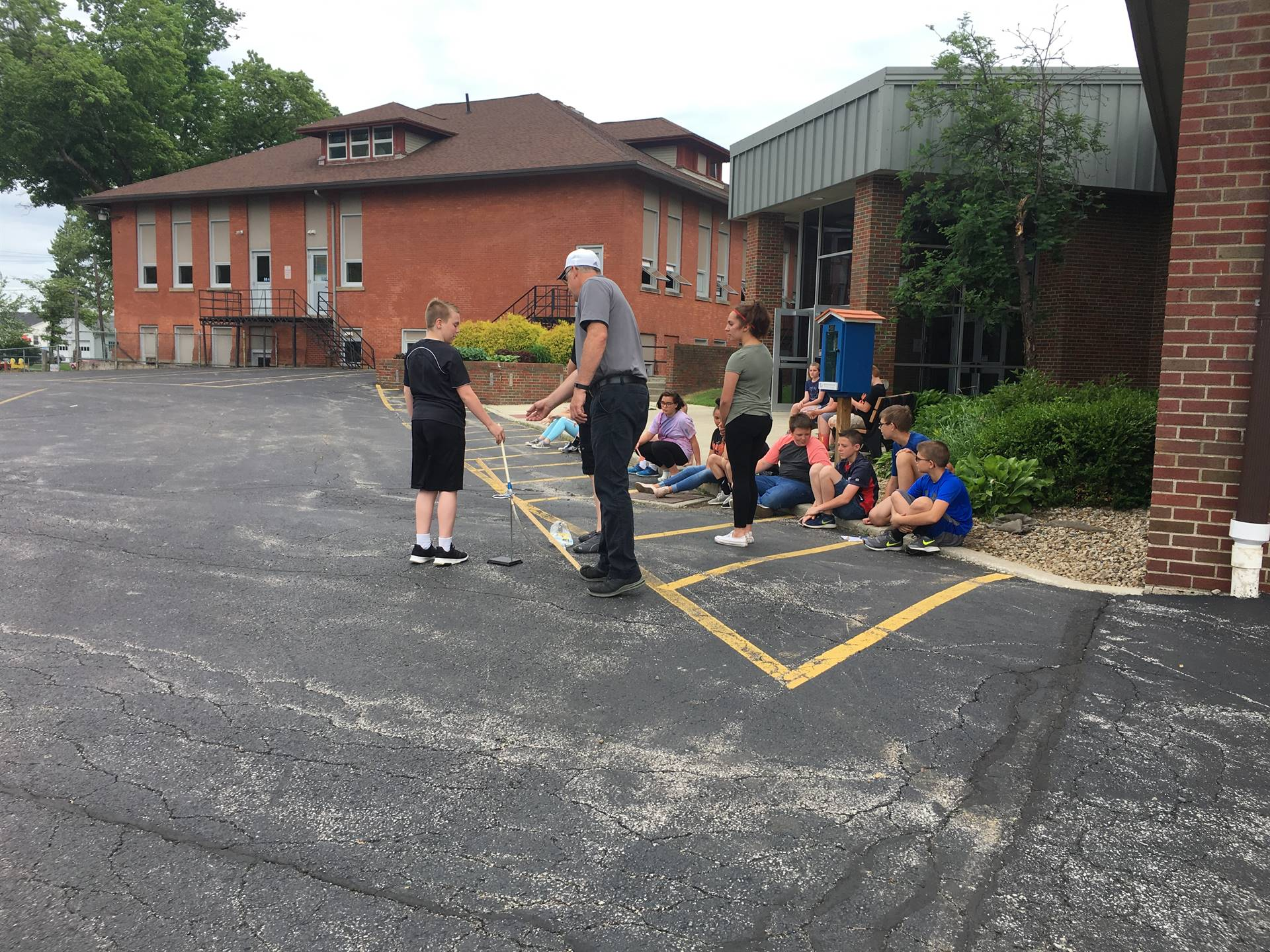 Mr. Doerner's 6th grade Science classes practice problem-solving skills as they evaluate, launch