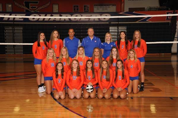 2018 Lady Charger Varsity Volleyball Team
