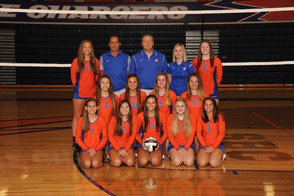 2018 Lady Charger Junior Varsity Volleyball Team