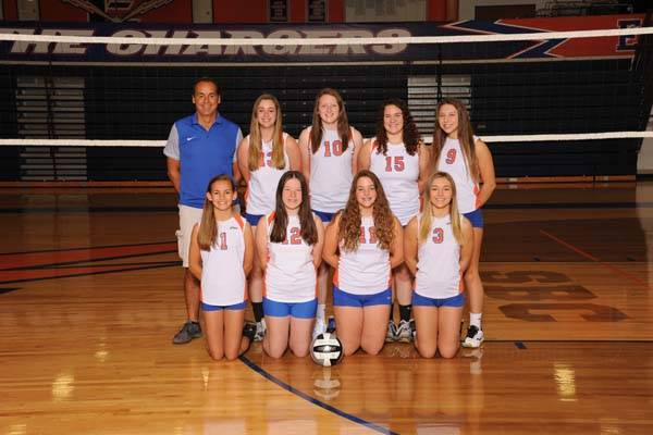 2018 Lady Charger Freshmen Volleyball Team