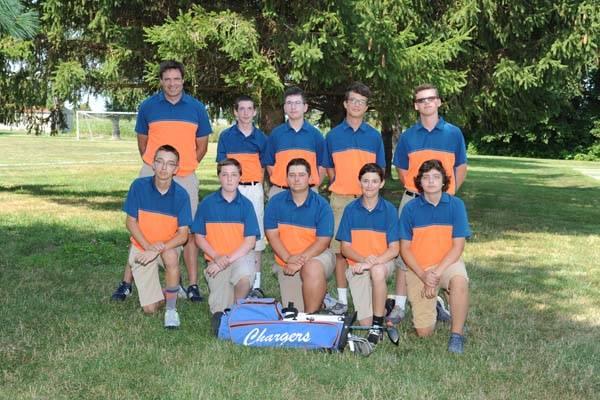 2018 Boys Golf Team
