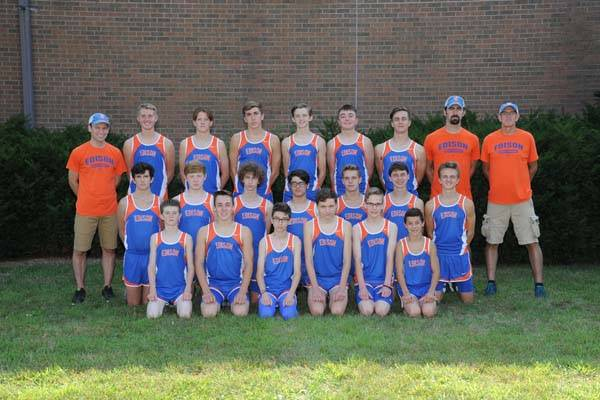 2018 Charger Cross Country Team
