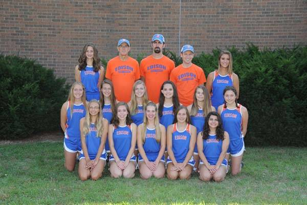 2018 Lady Charger Cross Country Team
