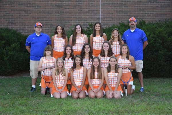 2018 Lady Charger Tennis