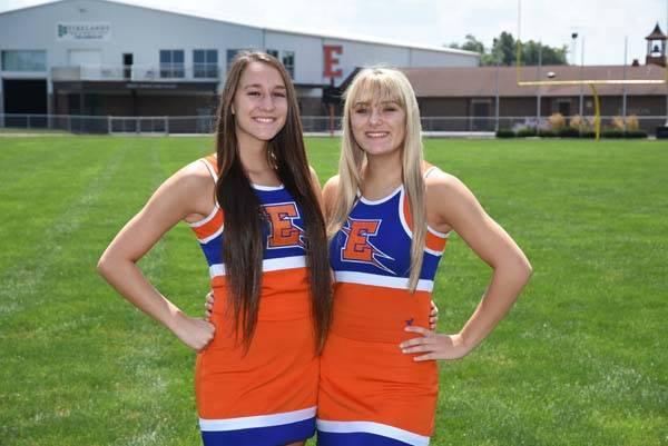 2018 Cheerleading Seniors