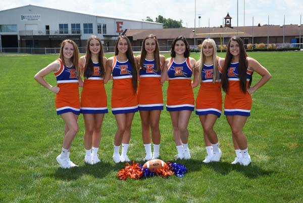 2018 Varsity Cheerleaders