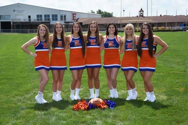 2018 Varsity Cheerleaders