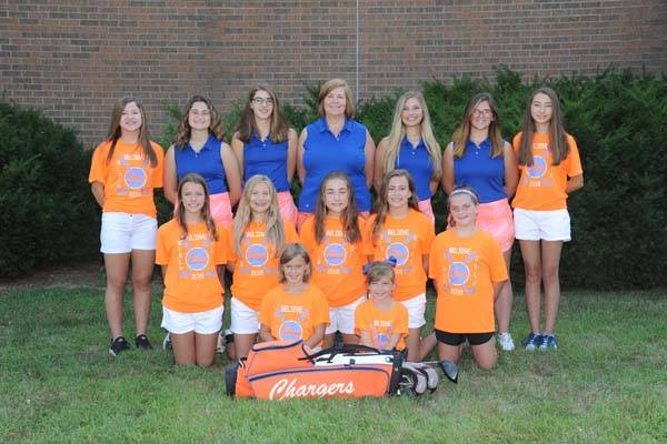 2018 Lady Charger Golf Team