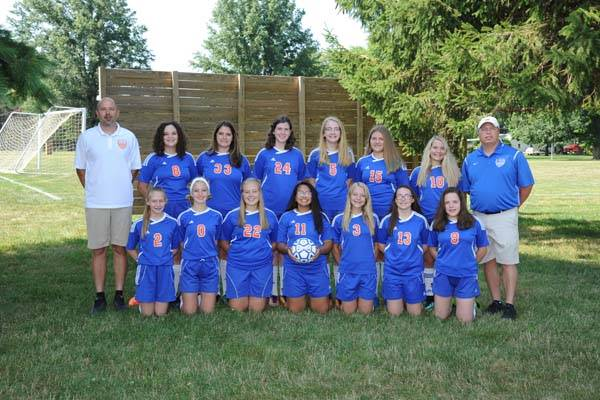 2018 Lady Charger Junior Varsity Soccer Team