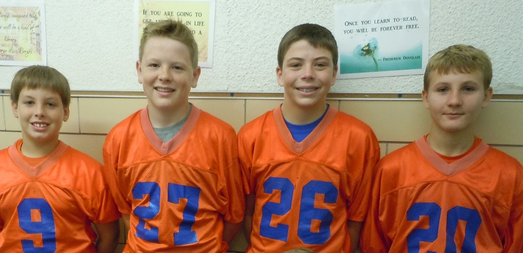 7th Grade Football Players