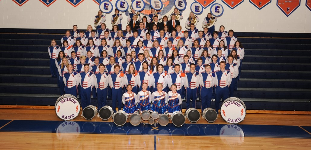 2018 Edison Marching Band
