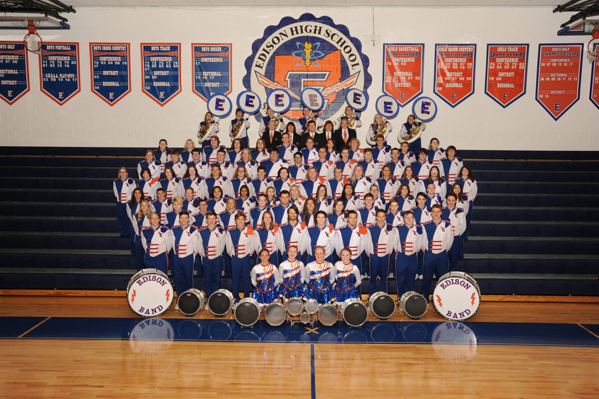 2018 Charger Marching Band