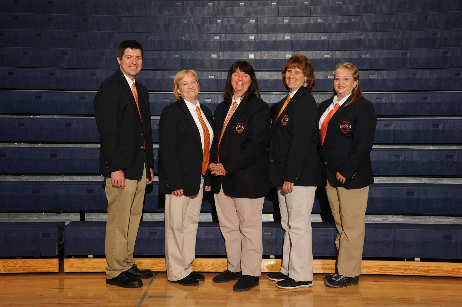 2018 Marching Band Staff