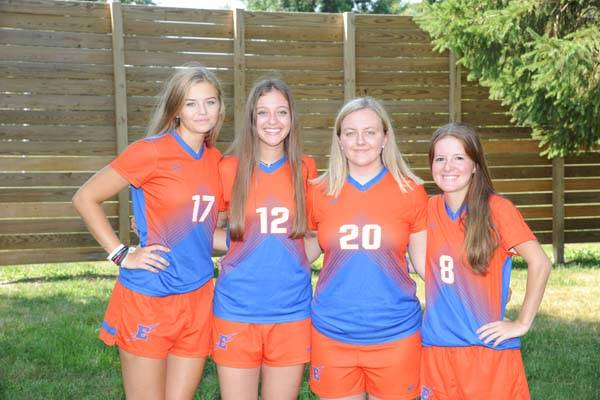 2018 Lady Charger Soccer Seniors