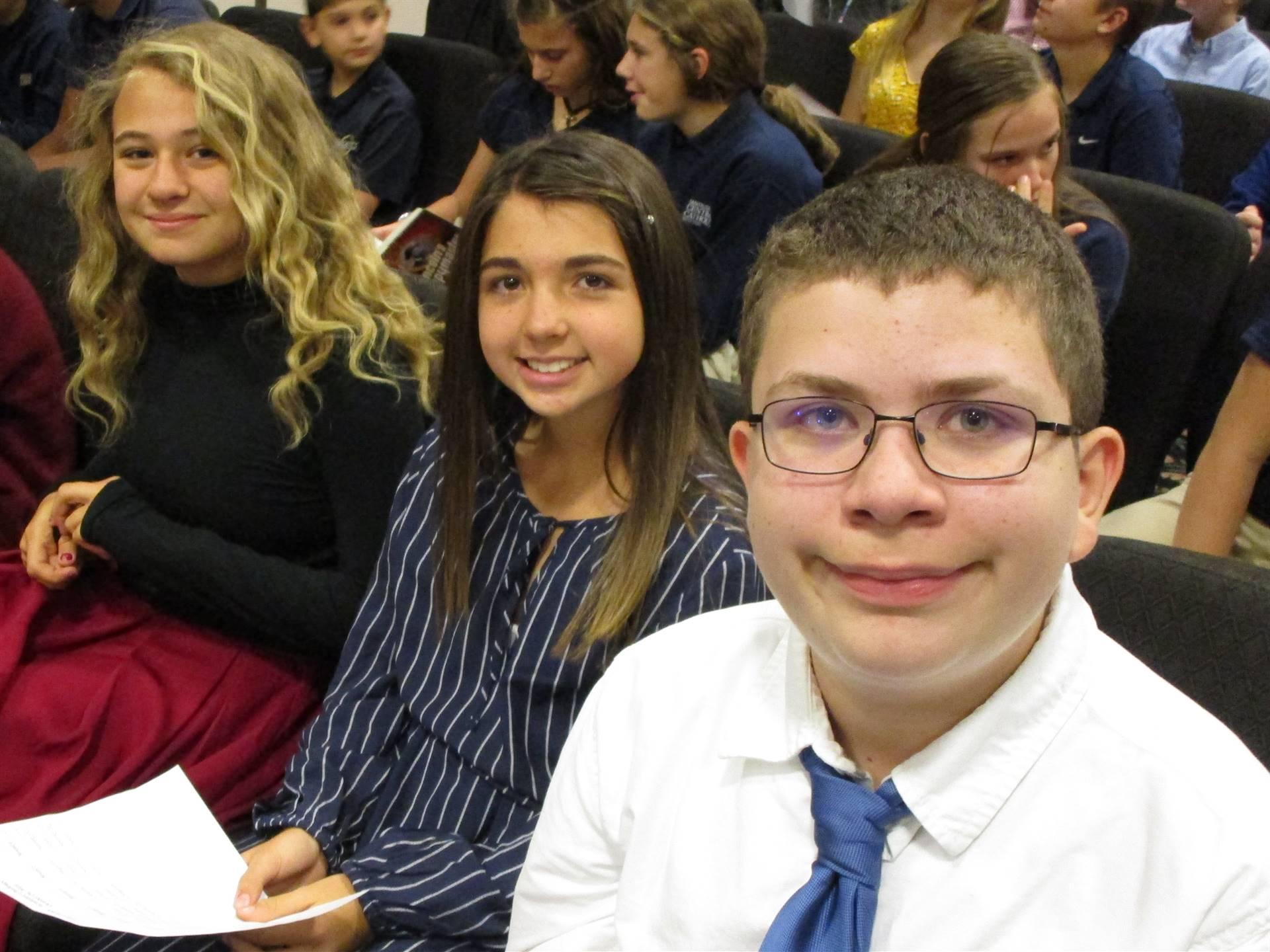 7th Grade Academic Challenge Team 2019