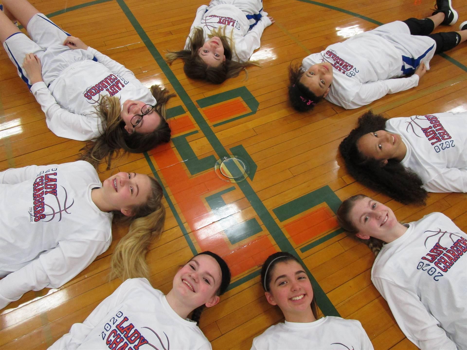 7th Grade Girls Basketball 2019