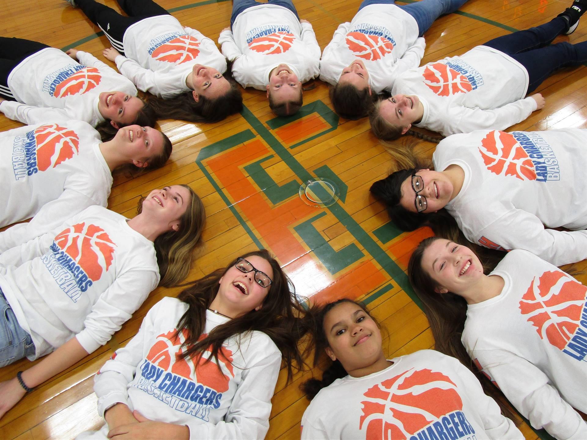 8th Grade Girls Basketball 2019