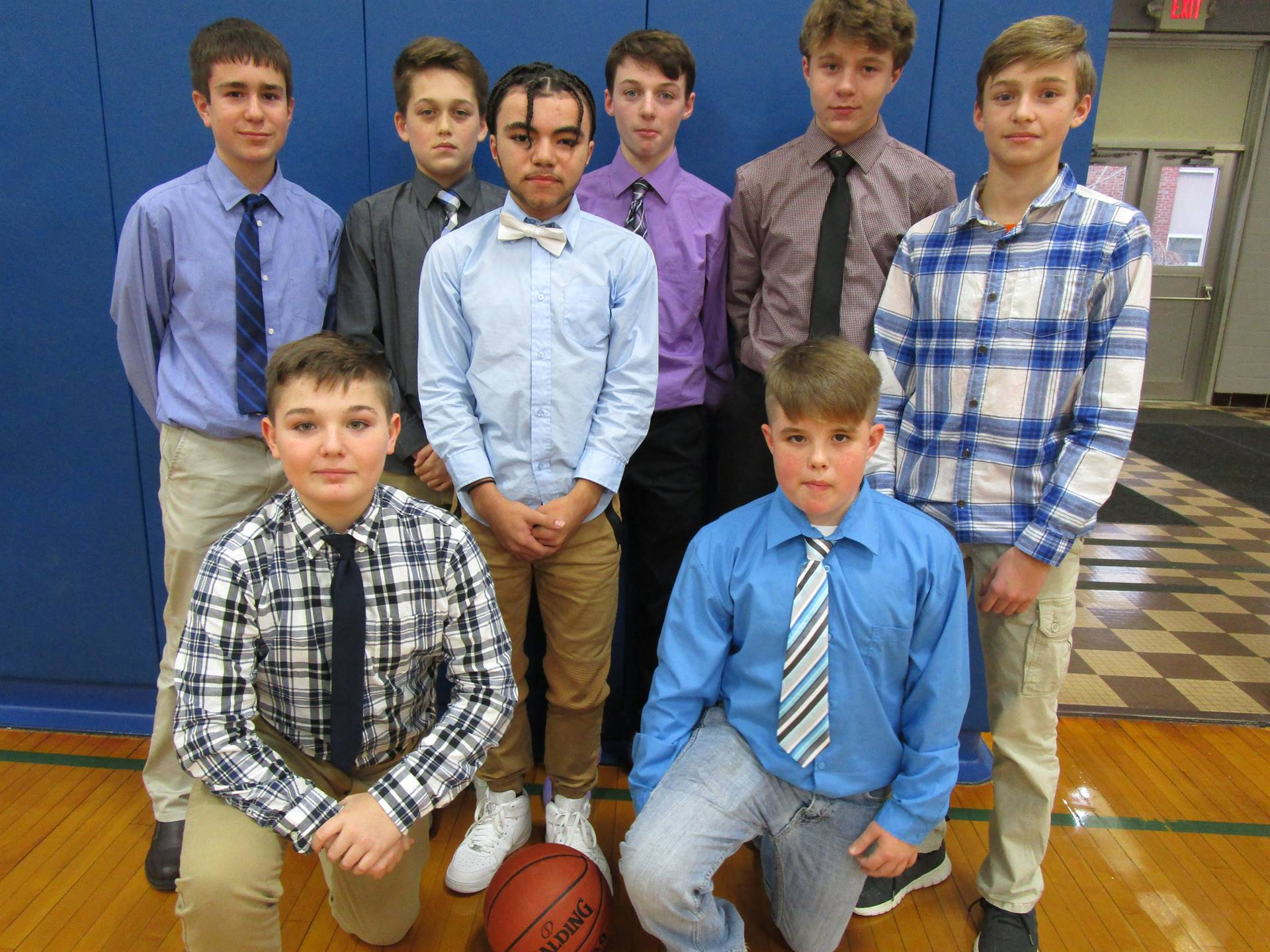 7th Grade Boys Basketball 2019