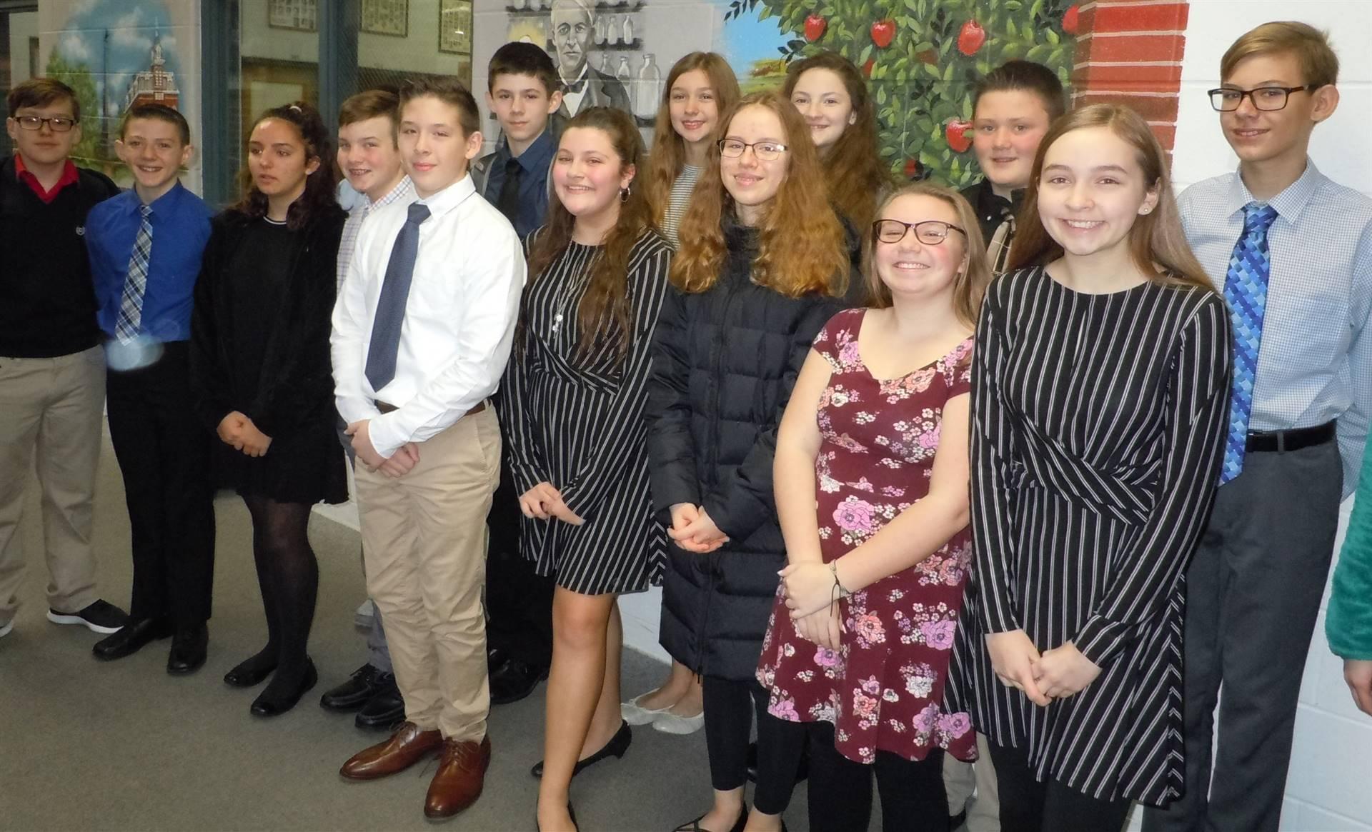 Edison Middle School Academic Challenge Teams