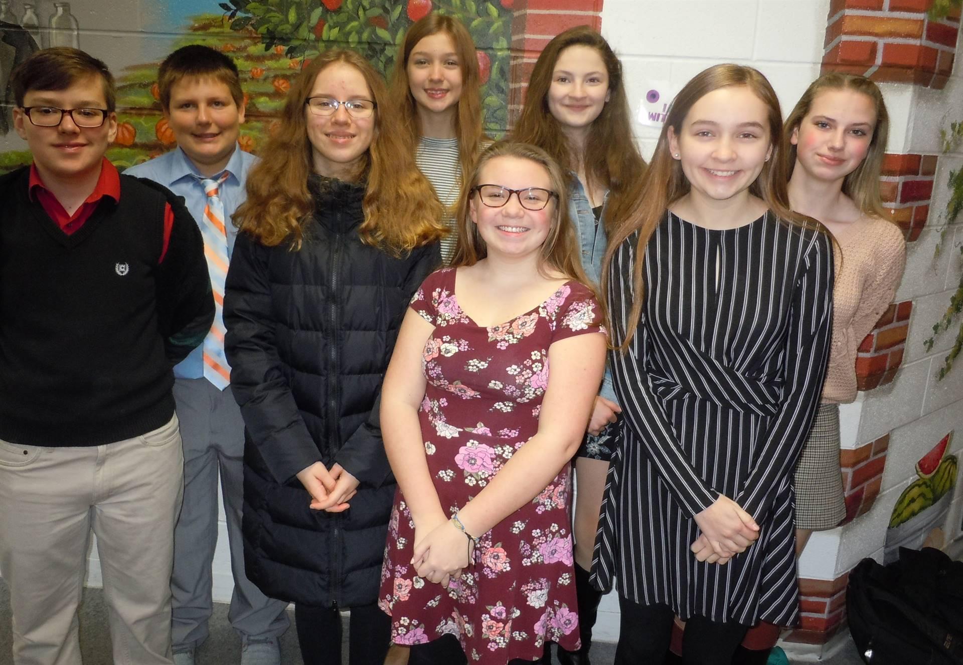 8th Grade Academic Challenge Team