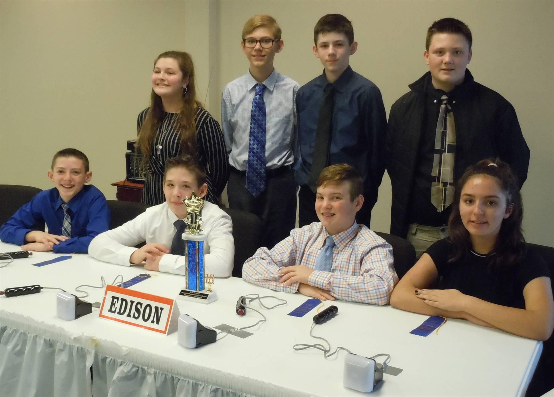 7th Grade Academic Challenge Team