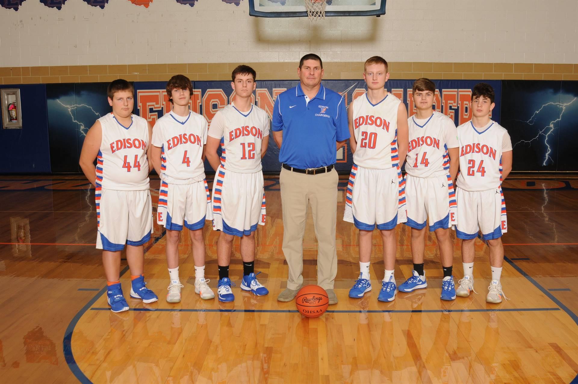 2019 Freshman Boys Basketball Team