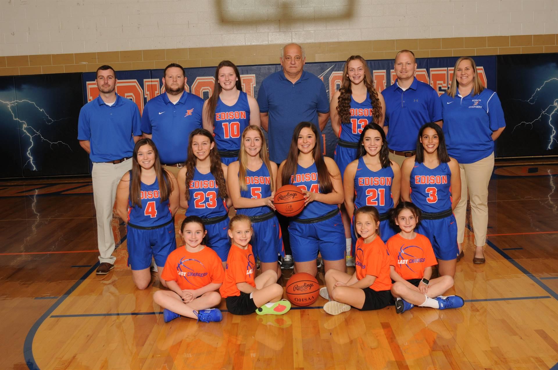2019 Varsity Girls Basketball Team