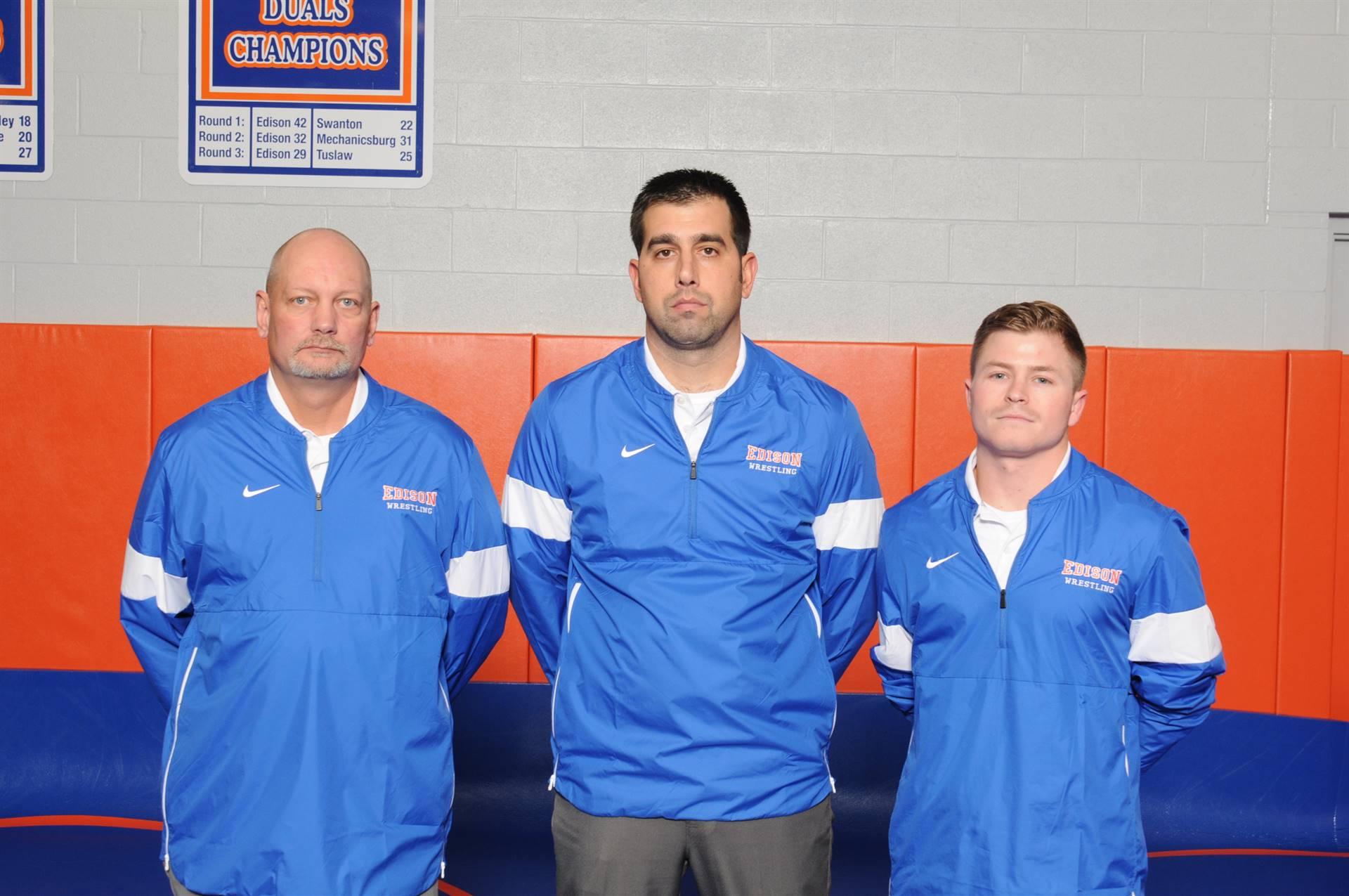 Wrestling Coaching Staff
