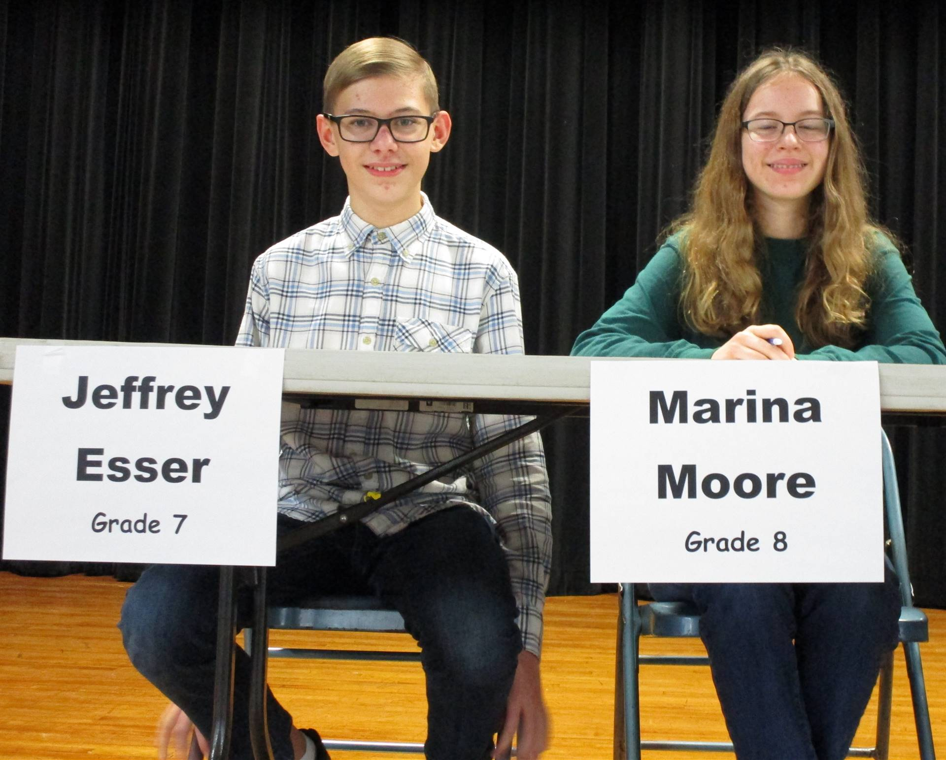 Geography Bee Contestants