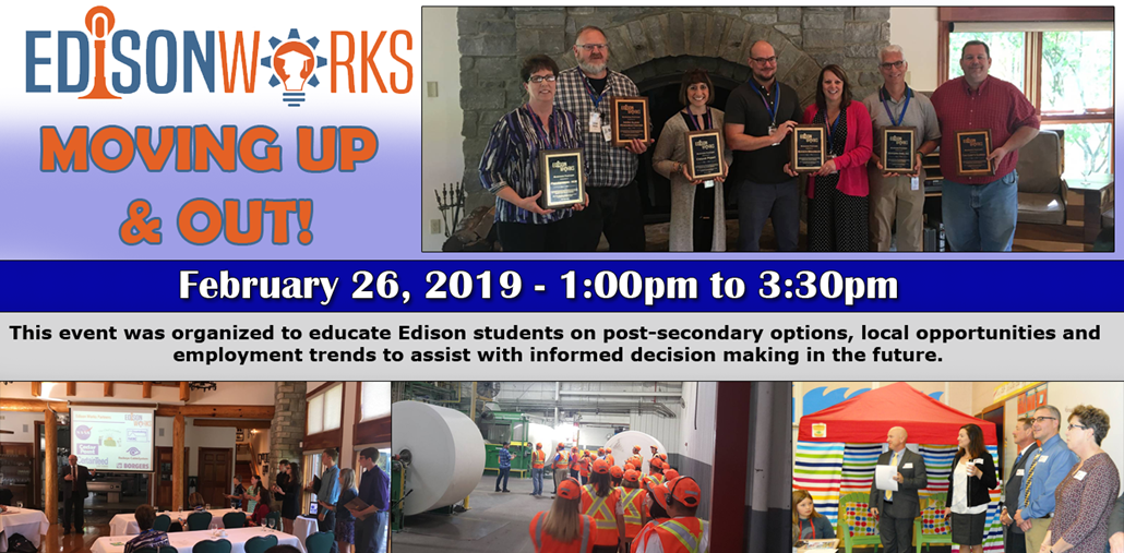 Moving up and Out - Edison Works event