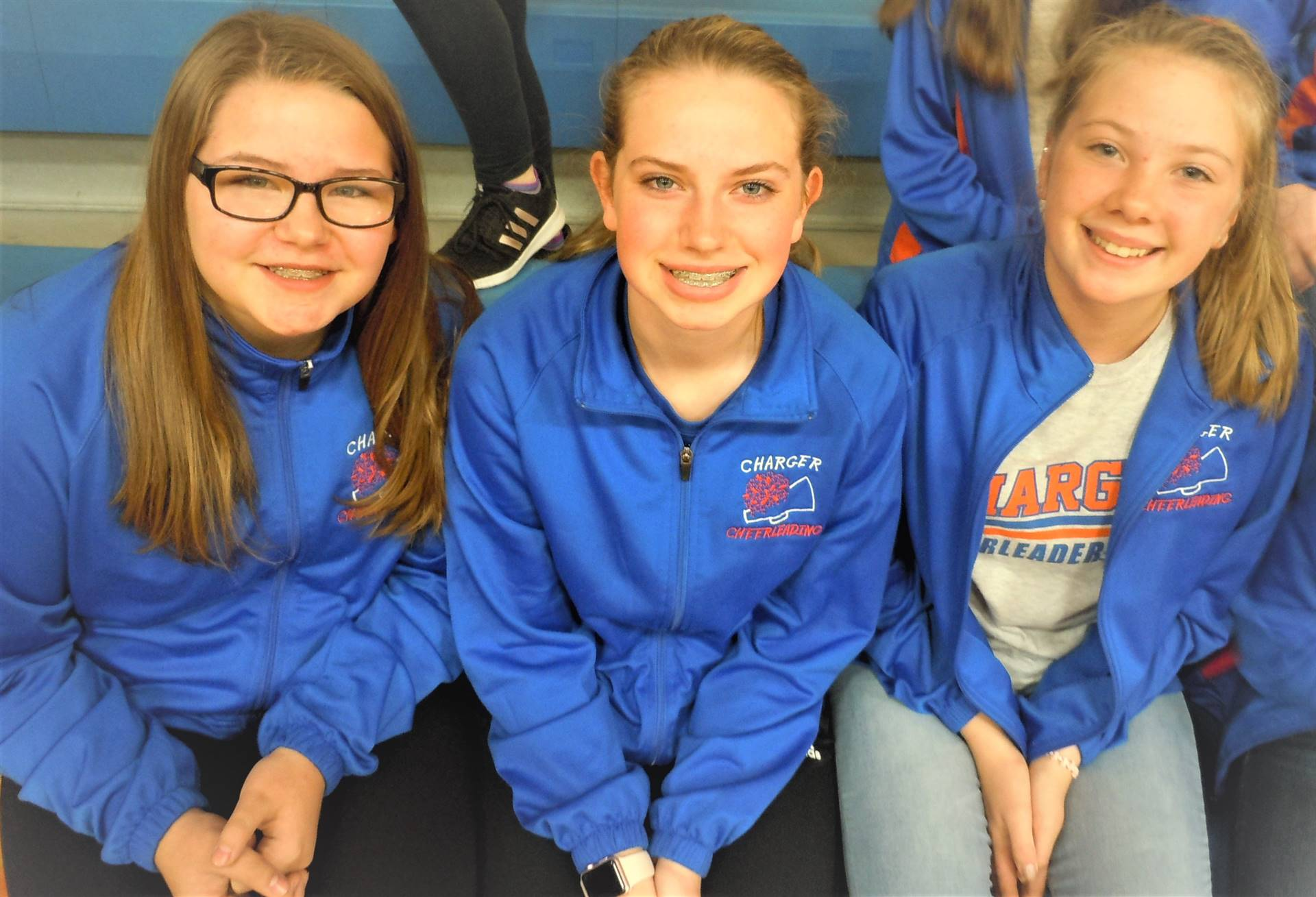8th Grade Fall Cheerleaders
