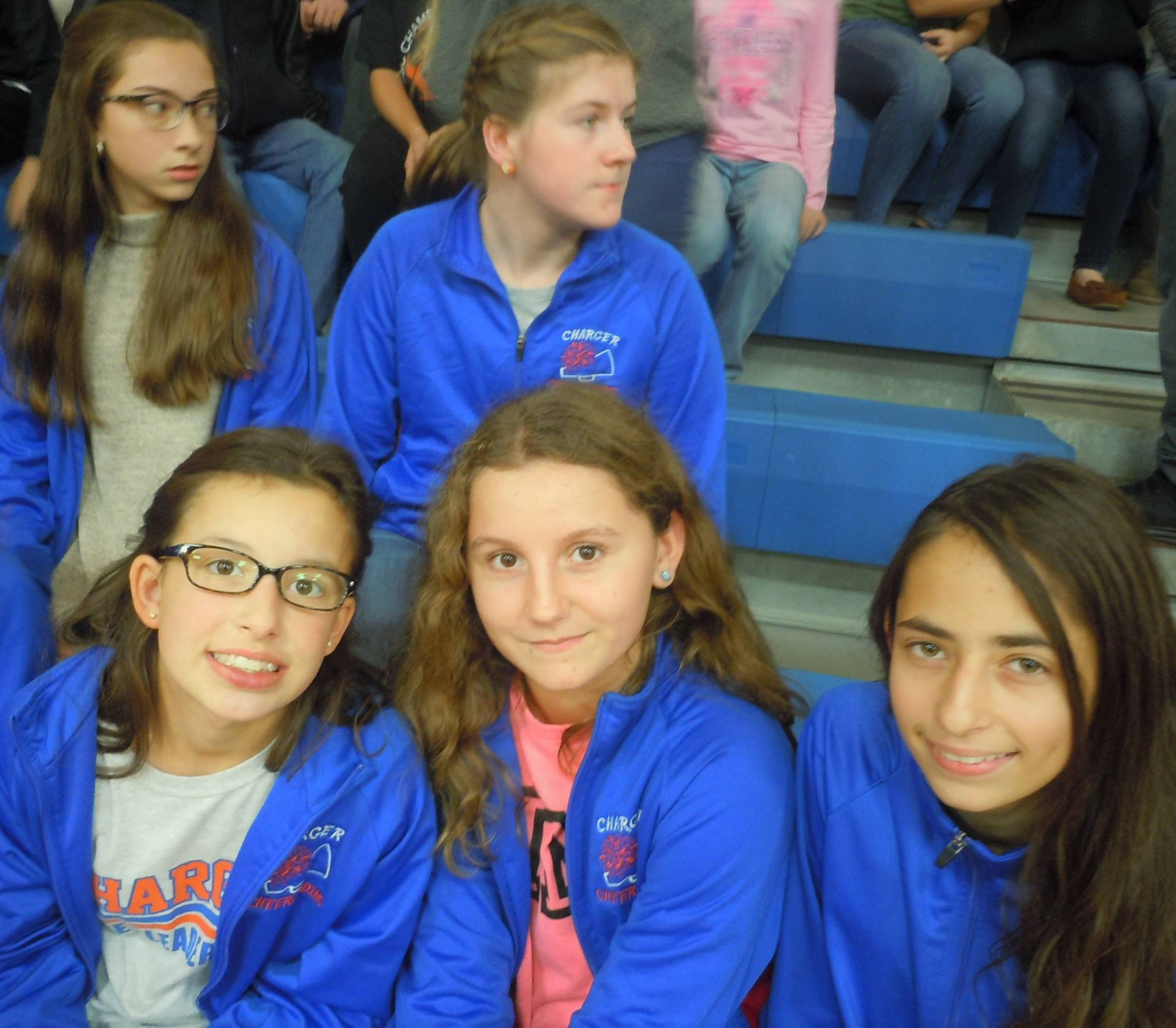7th Grade Fall Cheerleaders