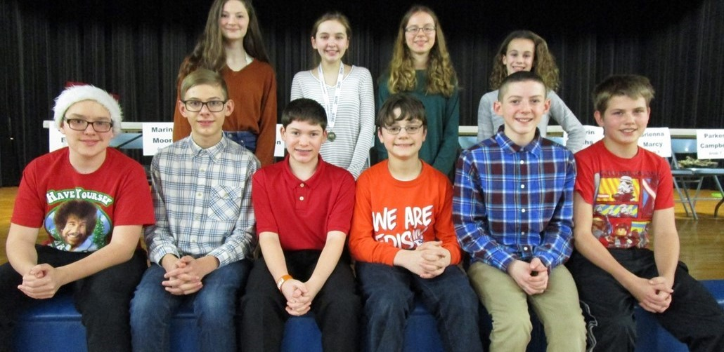 Geography Bee Contestants 2018