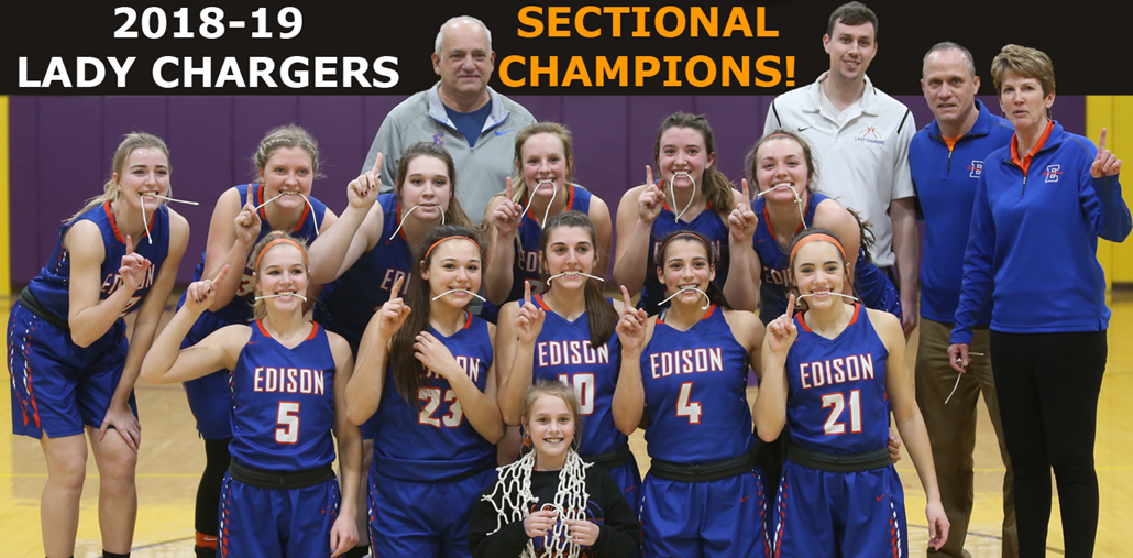 2018-19 Girls Basketball Sectional Champions!