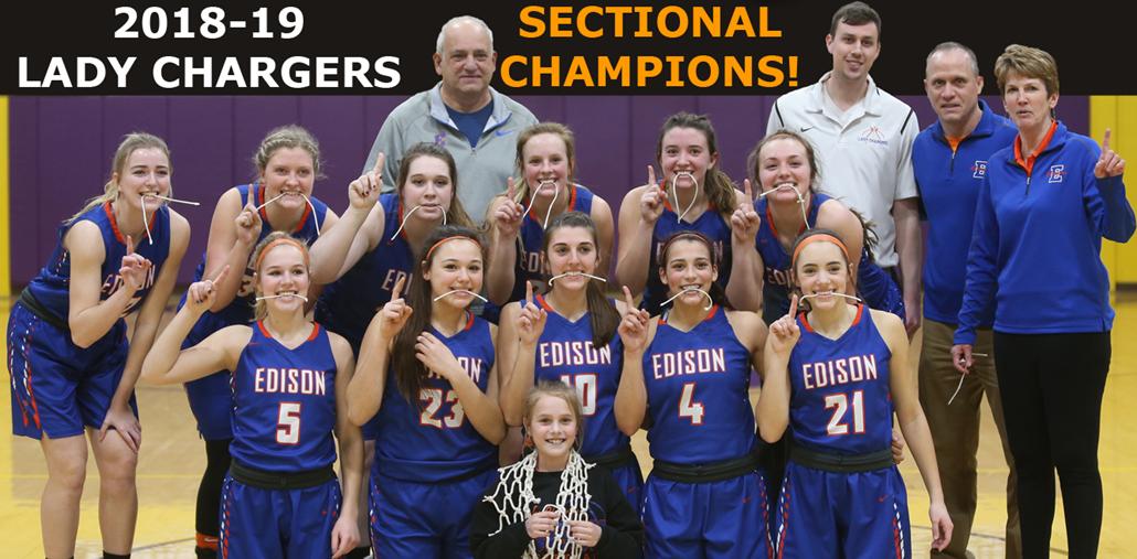 2018-19 Girls Basketball Sectional Champions!