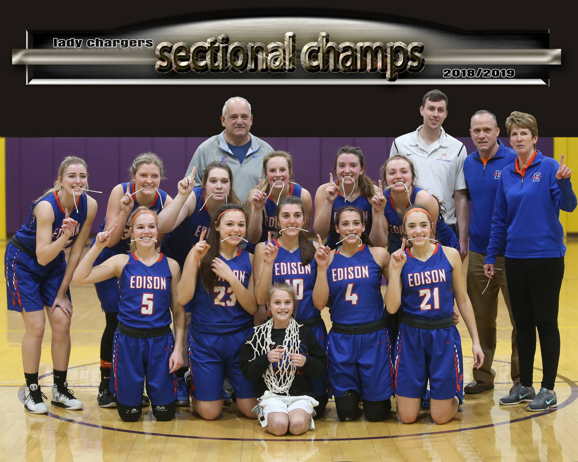 Girls Basketball Sectional Champions