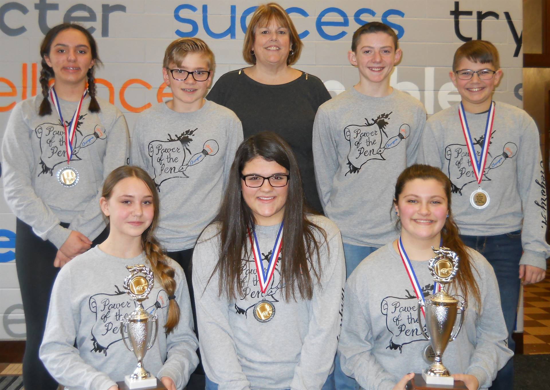 7th Grade Power of the Pen District Winners 2019