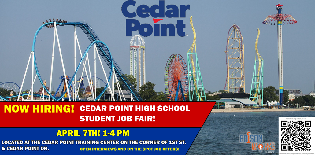 Cedar Point Now Hiring
