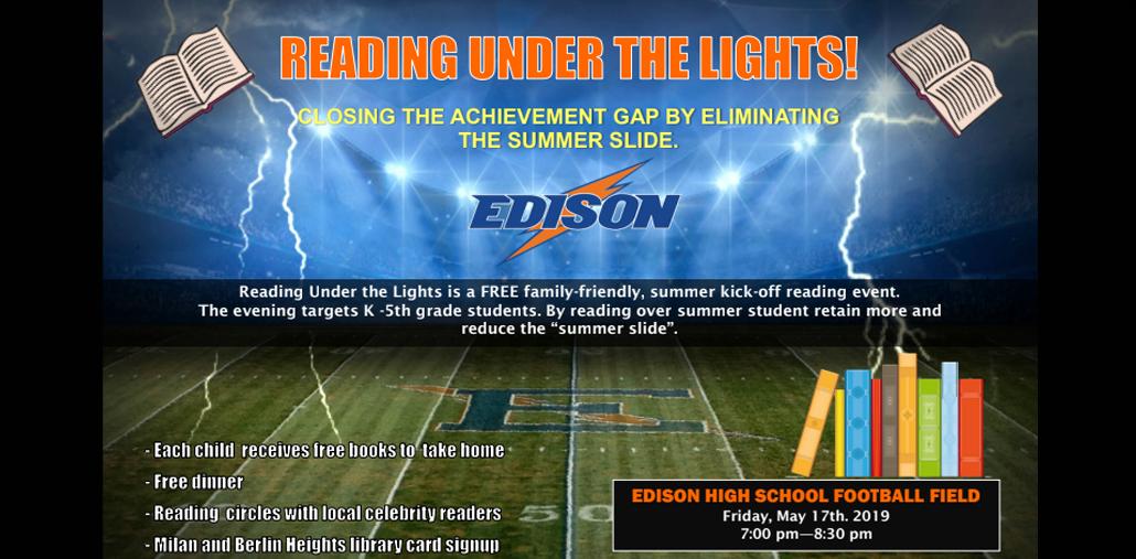 Reading under the Lights Program
