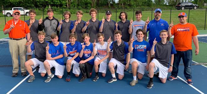 2018-19 Boys Tennis - SBC Champions