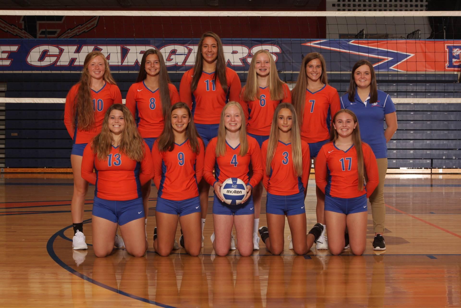 2019 Volleyball Freshmen Team